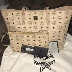 Women's mcm pouch & bag  ( authentic ! )